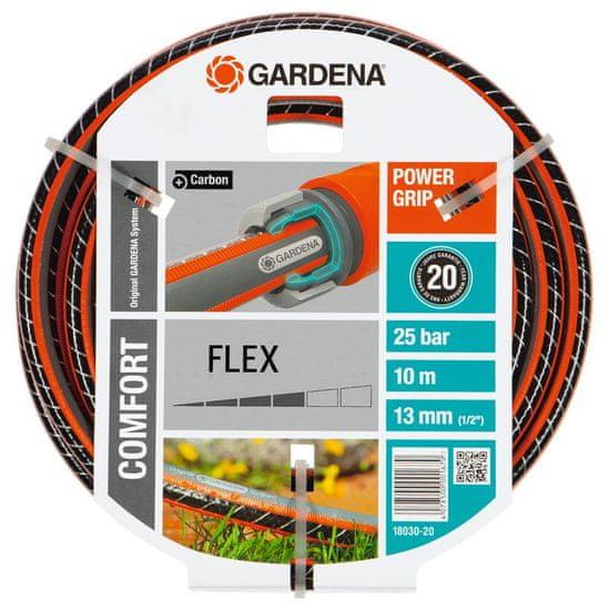 """Gardena Hadica Comfort FLEX 13 mm (1/2"""") 10 m bez armatur (18030)"""