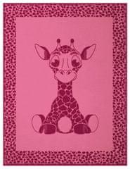 Biederlack Kids Cotton Giraffe 75x100 cm