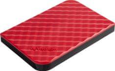 """Verbatim zewnętrzny dysk twardy Store 'n' Go GEN2 1TB / External / USB 3.0 / 2,5"""" / Red (53203)"""