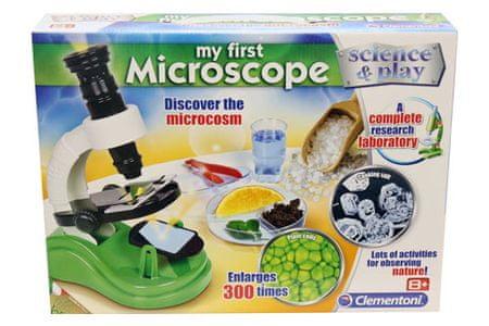 Clementoni mikroskop 300x, šk. 61211