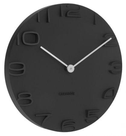 Karlsson Zegar ścienny KA5311 czarny