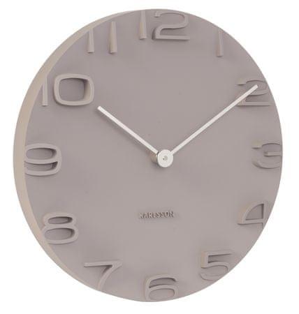 Karlsson Nástěnné hodiny KA5311 béžová