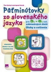 Lampartová Terézia: Päťminútovky zo slovenského jazyka pre 5. a 6. ročník základných škôl
