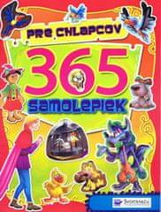 autor neuvedený: 365 samolepiek pre chlapcov