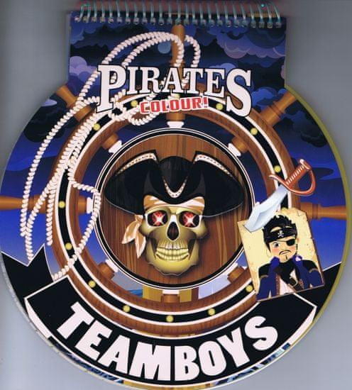 autor neuvedený: Teamboys Pirates Colour! – kormidlo