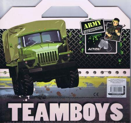 autor neuvedený: Teamboys Army Stickers!