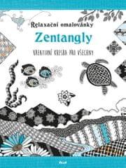 autor neuvedený: Relaxační omalovánky: Zentangly - Kreativní kresba pro všechny