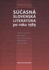 Grupač a kolektív Marián: Súčasná slovenská literatúra po roku 1989