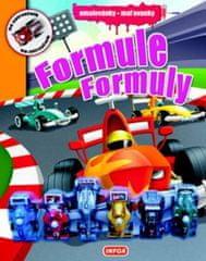 autor neuvedený: Omalovánky / Maľovanky - Formule / Formuly