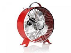 Tristar namizni ventilator VE-5963, rdeč, 25 cm