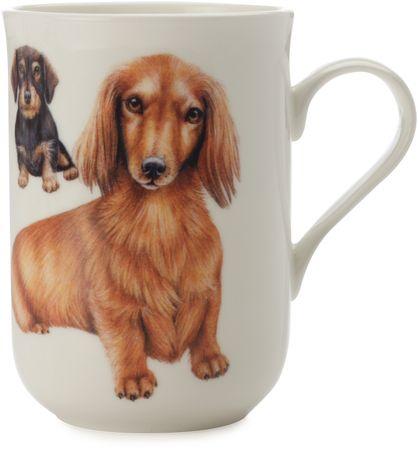 Maxwell & Williams Cashmere Pets Tacskó kutyás bögre, 300 ml