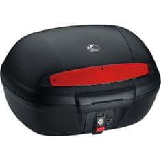 Drive Hepco Backer kovček Journey z adaptersko ploščo, črn