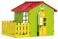 Mochtoys Kerti ház kerítéssel