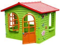 Mochtoys Domek ogrodowy, czerwony dach