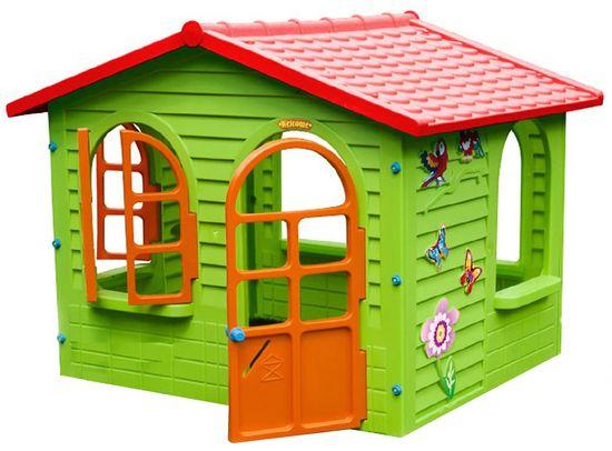 Mochtoys Záhradný domček s oknami a dverami