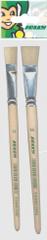 Jolly čopič natur št. 14+16 2/1, ploščat