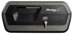 Master Lock Prenosný trezor - reset combo - čierny (LCFW30100)