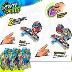 igra Crazy Darts, 1 tarča