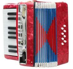 Unikatoy harmonika 17K/8B (22290), crvena