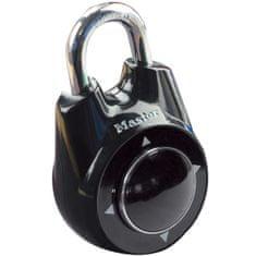 Master Lock Visiaci zámok s číselným kódom 55mm čierny (1500iEURDBLK)