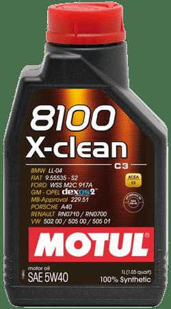 Motul olje 8100 X-Clean C3 5W40, 1L