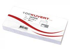 Pigna kuverta Office 11x23 cm, 100 kosov