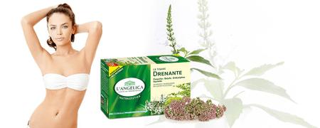 L'Angelica zeliščni čaj za odvajanje vode, 22 vrečk