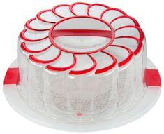 Snips Podnos na tortu 28 cm s poklopom a držiakom