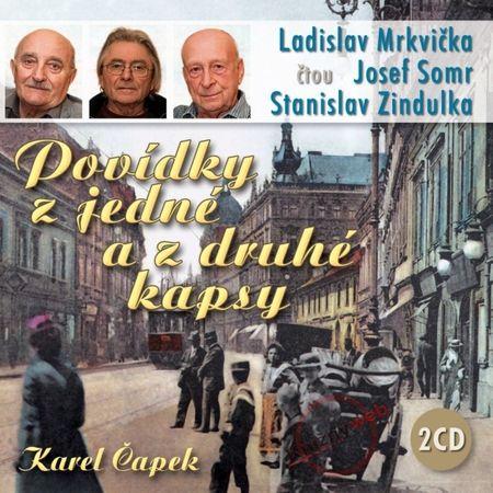 Čapek Karel: Povídky z jedné a z druhé kapsy - KNP-2CD