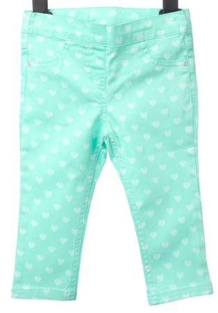 Primigi dívčí kalhoty 74 zelená