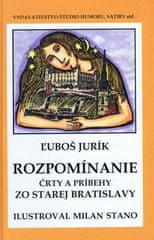 Jurík Ľuboš: Rozpomíname - Črty a príbehy zo starej Bratislavy