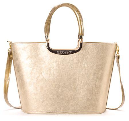 cd338ef280 GROSSO BAG zlatá kabelka - Alternativy