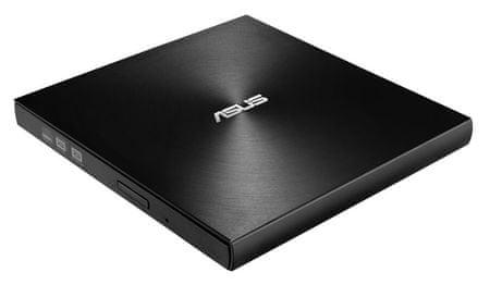 Asus SDRW-08U7M-U zunanji DVD zapisovalnik, črn + 2x M-Disc DVD