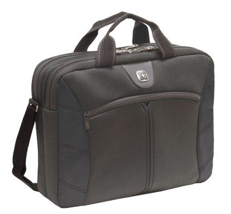 Wenger poslovna torba za prenosnik Sherpa, 40,6 cm, črna