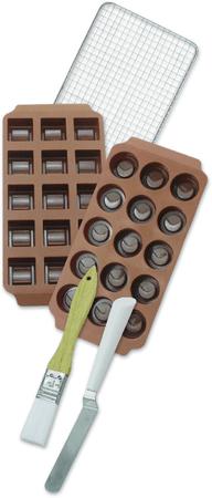 Zenker Set za izdelavo pralinejev, silikon