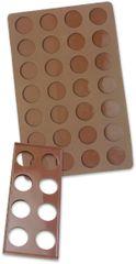 Zenker Podložka na pečenie makrónok, silikón