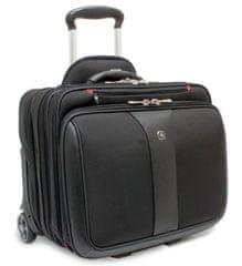 """Wenger PATRIOT cestovný kufor s priestorom pre notebook 17 """", čierna"""