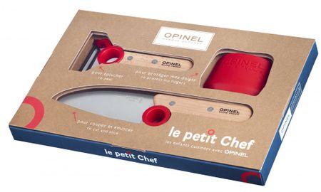 """Opinel """"Le Petit Chef"""" Kés és hámozó készlet"""