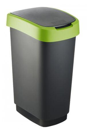 Rotho Twist Szemetes, 50l, Zöld