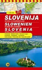 Avtokarta Slovenije 1 : 250 000