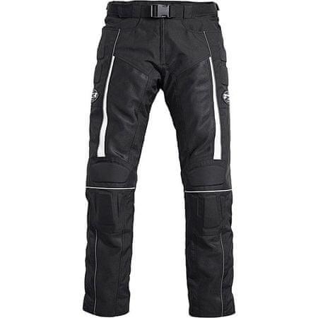 FLM motoristične poletne hlače 1.0, moške, črne, XXXXL