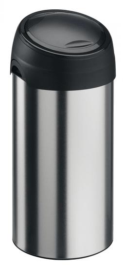 Meliconi Odpadkový koš Soft-Touch 60 l kartáčovaná ocel - rozbaleno