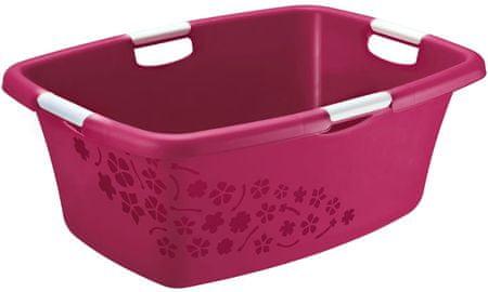 Rotho Umývadlo Flowers 50 l ružová