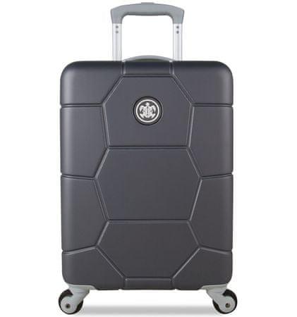 SuitSuit ABS Gurulós bőrönd, Szürke