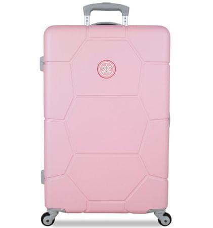 SuitSuit TR-1231/3-M ABS Gurulós bőrönd, Rózsaszín