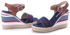 U.S. Polo Assn. Dámské sandály Nymphea, tmavě modrá, vel. 41 - zánovní