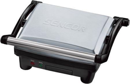 SENCOR SBG 3050SS Elektromos grillsütő