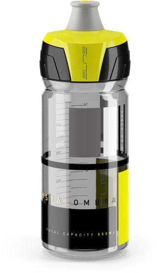 Elite Crystal Ombra 550ml kouřová/žlutá