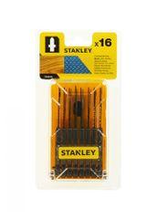 Stanley zestaw brzeszczotów HCS/HSS do drewna i metalu, 16 elementów