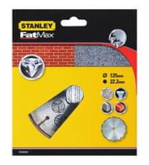 Stanley diamentowa tarcza segmentowa do betonu 125 x 22,2 mm